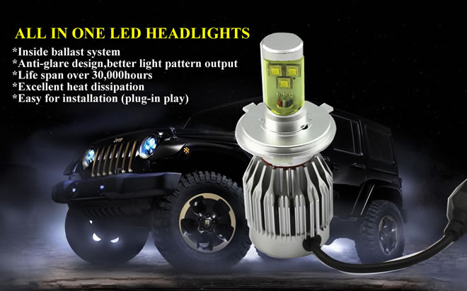 LHA CREE LED Headlight