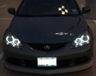 Ccfl Angel Eyes For Honda Rsx