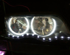 Ccfl Angel Eyes For BMW E46 Without Projector