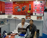 Our customer on exhibition